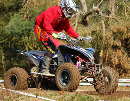Quad biking adventure experience with a 200 cc bike
