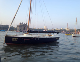 Sailing on Seabird at Colaba for group of six