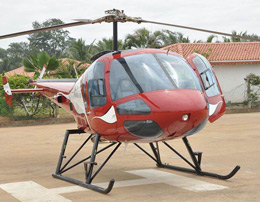 Enjoy an adventurous helicopter ride of Mumbai for a couple or group of three