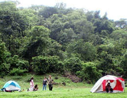 Trekking and camping at Virar for group of six
