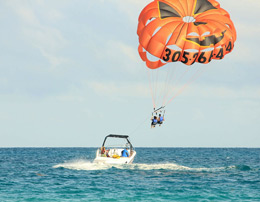 Parasailing Joyride for group of five at Goa