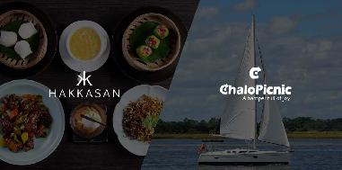 Gift a four course meal and a sailing experience for two in Mumbai