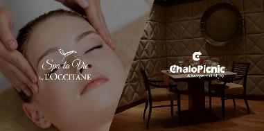 Neck, Shoulder & Head Massage and a 4 course fine dining experience