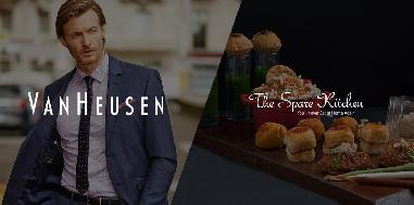 Gift him a Van Heusen Gift card along with an fine dine experience
