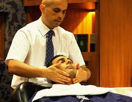 Royal facial: Intense skin cleansing regime for him