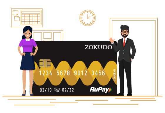 Zokudo Rupay Reloadable Card